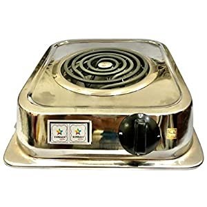 Trishays SHOP4ALL Portable 2000 Watts Electric G Coil Cooking Stove/Heater/Compact Hot Plate Cooking Stove/Induction…