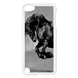 Custom Colorful Case for Ipod Touch 5, Galloping Horse Cover Case - HL-R670696