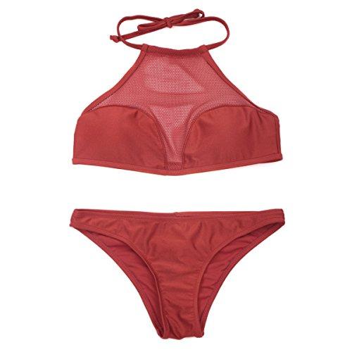 RELLECIGA - Conjunto - para mujer Rojo