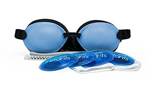 Tranquileyes Warm Compress for Moderate Dry Eye Relief with Self-Heating Instants ()