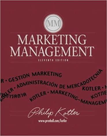 Marketing management philip kotler 9780130336293 amazon books fandeluxe Images