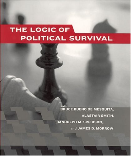 Book cover from The Logic of Political Survival (The MIT Press) by Bruce Bueno de Mesquita