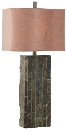 Kenroy Home Ripple Slate Table Lamp