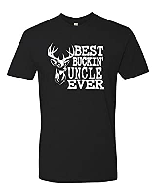 Panoware Best Buckin' Uncle Ever Funny Deer Hunting T-Shirt