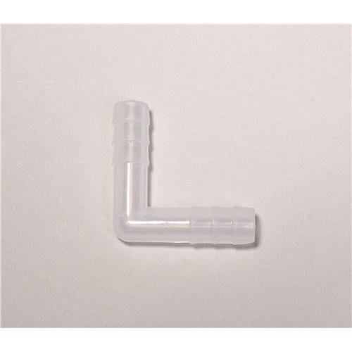 Supply Tubing Connector - United Scientific Supplies 46132 L-Shaped Connector for 8 mm Tubing, Polypropylene (Pack of 12)