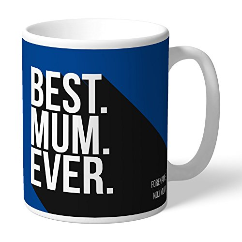 Content Gateway Official Personalized Chelsea FC Best Mum Ever Mug - FREE PERSONALISATION by Content Gateway