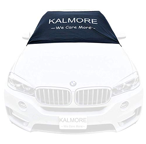 Car Windshield Snow Cover Protects Windshield and Wipers from Snow, Ice and Frost - Firmly Stays in Place with Strong Straps and Magnetic Grip. One Size Fits ALL Cars, SUVs, Trucks & Vans (70x50)