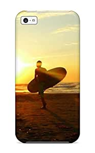 For Iphone 5c Protector Case Amazing Sunset View Photography Phone Cover