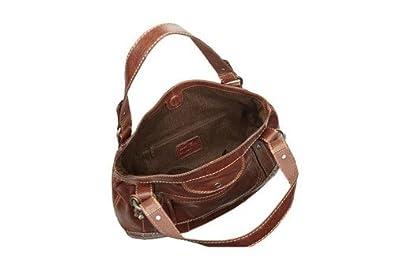 a930970ed2bd3 Fossil Liberty ZB4178 Braun ZB4178-200 Damen Handtasche Tasche Henkeltasche  Leder Glattleder  Amazon.de  Schuhe   Handtaschen