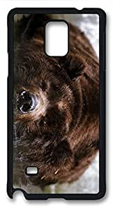 Bear Bathing Masterpiece Limited Custom PC Black Case for Samsung Galaxy Note 4 by Cases & Mousepads