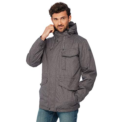 Men 3 Mantaray in Resistant Shower Jacket Grey 1 zRRnTZqx