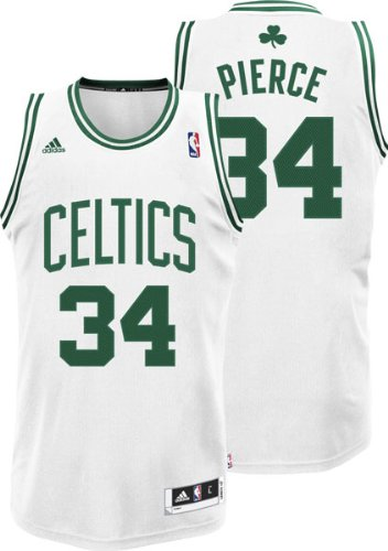 fe903212fda Amazon.com   NBA Boston Celtics Paul Pierce Swingman Jersey White