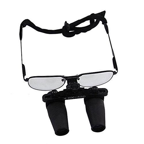 Review 4.0x Magnification Dental Loupes,