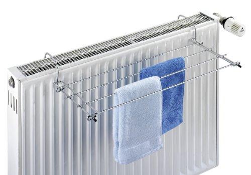- WENKO 3781010100 Chrome Radiator Dryer, 59 x 8.5 x 23 cm