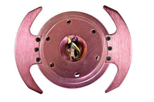 NRG Innovations SRK-650PK Quick Release Kit (Pink Body/Pink Ring with Handles) by NRG Innovations