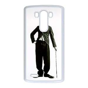LG G3 Cell Phone Case White Charlie Chaplin jibk