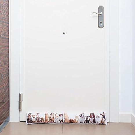 Cojín Burlete para Puertas Perros y Gatos: Amazon.es ...