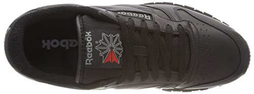 Reebok Classic Leather Archive, Sneaker Uomo Nero (Black/Carbon/Red)