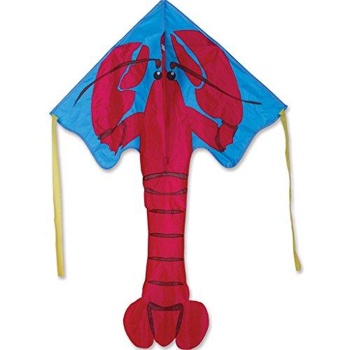 Red Heart Kite - Large Easy Flyer Kite - Red Lobster