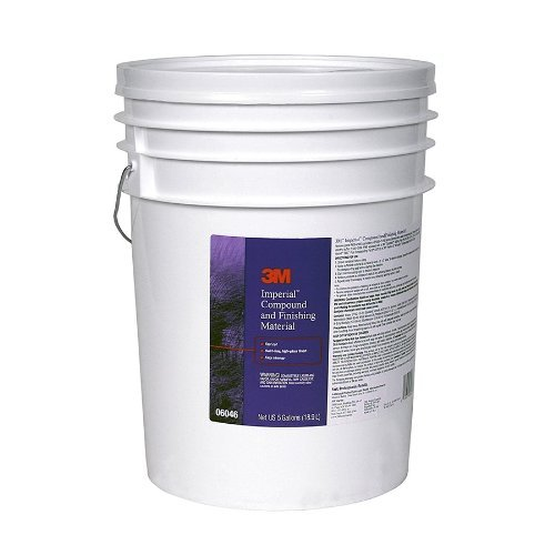 3M 06046 Imperial Compound and Finishing Material Pail - 5 Gallon by 3M