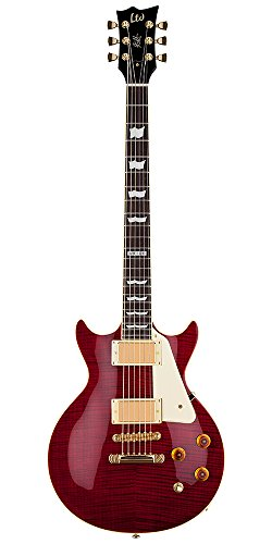 ESP LTD Kirk Hammett Signature KH-DC See Thru Black Cherry