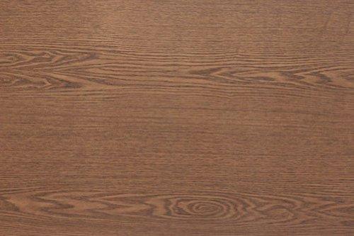 Magic-fix Peel & Stick Walnut Cypress Oak Wood Textured Vinyl Contact Paper Flower Mosaic Solid Self-adhesive Wallpaper Shelf Liner Table and Door Reform (DW-06 : 1.64 feet X 9.84 (Oak Mosaics)