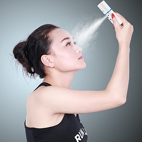 Price comparison product image Frcolor Nano Facial Mister Atomization Eyelash Extensions Mist Atomization Facial Humectant Steamer Cool Mist Face Hydration Sprayer Beauty Skin Care