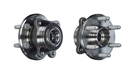 Detroit Axle - Pair (2) Front Wheel Bearing & Hub Assembly for 2015 2016 2017 2018 Chevy Colorado/GMC Canyon 4WD