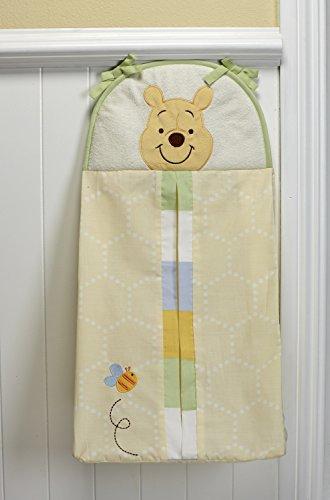 Disney Winnie the Peeking Pooh Diaper Stacker, Yellow, Blue, Green by Disney (Image #1)