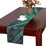 Jnseff Motif Design Art Color Table Runner, Kitchen Dining Table Runner 16 X 72 Inch For Dinner Parties, Events, Decor