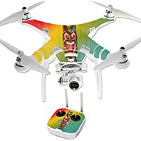 Skin For DJI Phantom 3 Professional – Tiki Man | MightySkins Protective, Durable, and Unique Vinyl Decal wrap cover | Easy To Apply, Remove, and Change Styles | Made in the USA