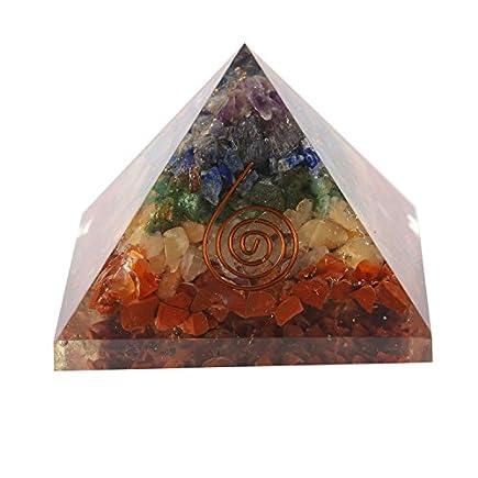 7 Chakra Orgone Pyramid