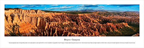 Bryce Canyon - Blakeway Panoramas Unframed National Park - Times In Sunset Mn