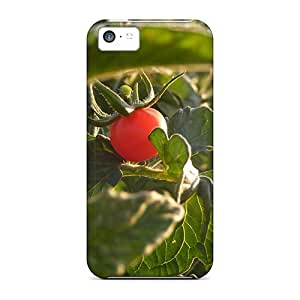 Excellent Iphone 5c Case Tpu Cover Back Skin Protector Tomato