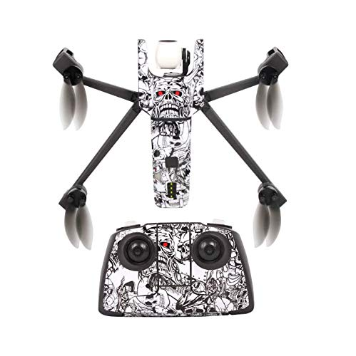 Drone New DIY 3M Waterproof Sticker kit for Parrot Anafi Body and Remote Control -