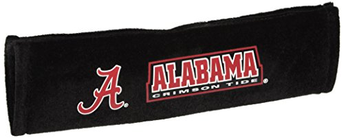 NCAA Alabama Crimson Tide Velour Seat Belt, One Size, Multi