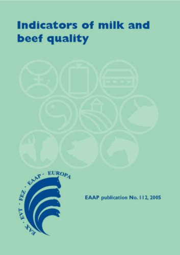 Milk S/f - Indicators Of Milk And Beef Quality (Eaap Publication)