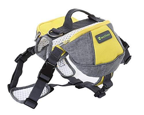 Sleipmon Dog Backpack Saddle Bag Travel Packs For Hiking Walking Camping