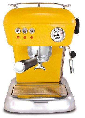 ASCASO DREAM espresso machine sun yellow