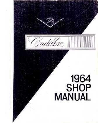 1965 Cadillac Body Service Shop Repair Manual Body & Convertible ...
