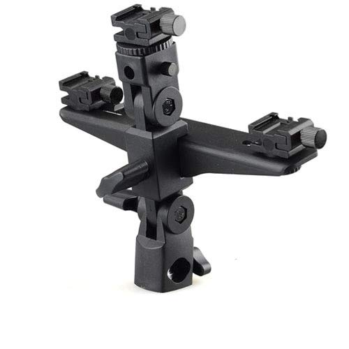- Xennos Dual/Triple Flash Bracket Umbrella Holder Light Stand Shoe 1/4