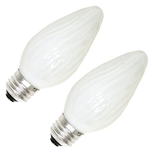 Sylvania 13820-25F/W/BL/2PK 120V F15 Decor Flame Tip Light Bulb