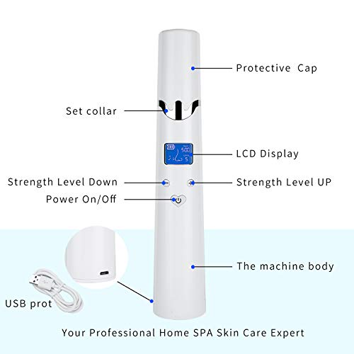 2019 UPGRADED Blackhead Remover, Pore Vacuum Suction Remover,4 in 1 Facial Pore Cleanser Standable USB Rechargeable Facial Skin Treatment Beauty Tool for women men with Large Size LED Display