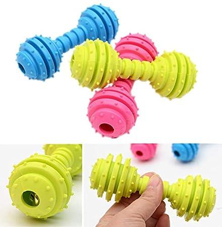 LGHOVRS Juguete Multifuncional para mordedura de Molar para Mascotas Juguete de Bola de Perro de Estilo de Ventosa Resistente a la masticaci/ón Rojo