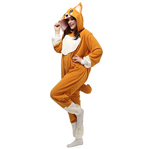 Cosplay Dog Adult Onesie Women/Men Costumes Pyjama Unisex