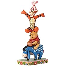 Jim Shore Disney Built by Friendship Eeyore Pooh Tigger Piglet Figurine 4055413