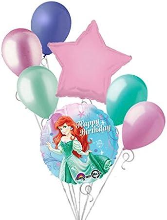 Amazon.com: 7 pieza Disney Princess – Ariel Little Mermaid ...