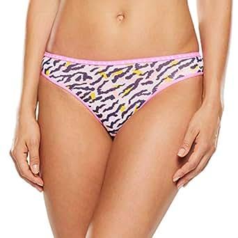 Bonds Women's Underwear Hipster Bikini Brief, Animal Optimism, 8 (1 Pack)