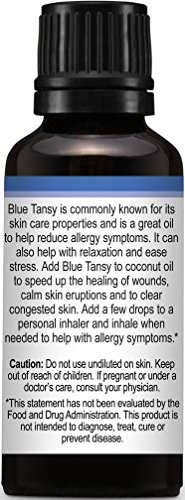 Plant Therapy Blue Tansy Essential Oil. 100% Pure, Undiluted, Therapeutic Grade. 30 ml (1 oz). by Plant Therapy (Image #4)
