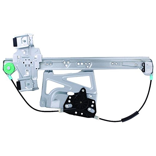 (New Window Regulator Front Drivers Side Left LH For 2000 2001 2002 2003 2004 2005 Cadillac DeVille 740-520, 11R299, 17801304, 25714290, 25737256)